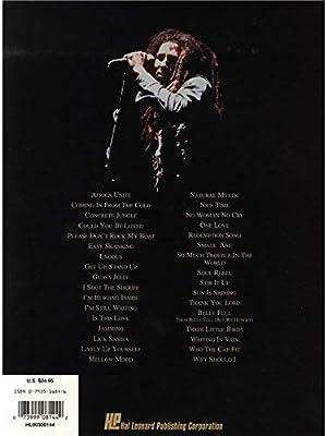 Bob Marley: Songs of Freedom. Partituras para Piano, Voz y ...