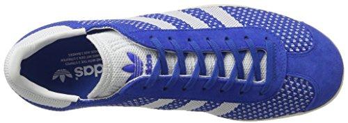 Adidas Originals Gazzella Mens Pk Scarpe Da Corsa Formatori Scarpe Da Ginnastica Blu (blu / Bianco Calzature / Bianco Gesso) Bb5246