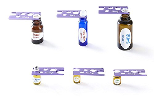 SOLIGT 3 Pack Multi color Metal Essential Oil Key Tool, Universal Opener and Remover for Roller Balls and Caps on Most Bottles