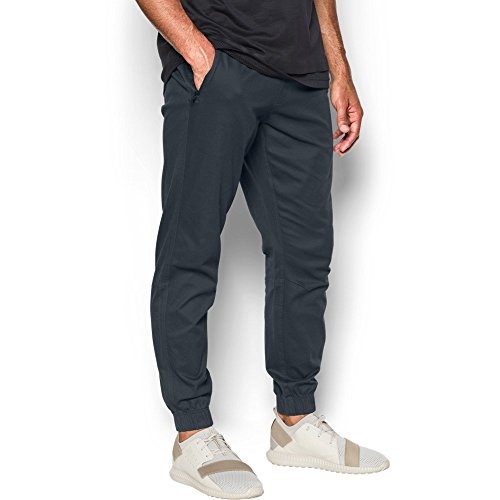 Under Armour Men's Performance Chino Joggers, Anthracite/Black, Large