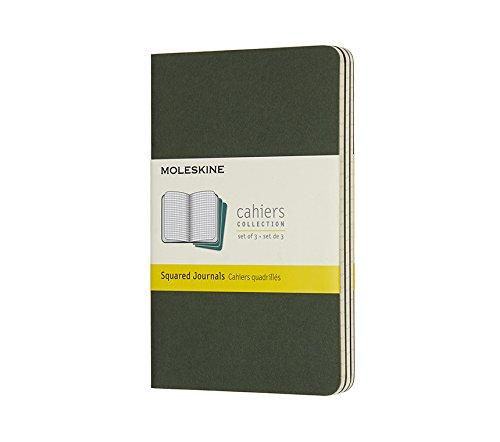 Moleskine Cahier Pocket Squared Myrtle Green (8055002855228)