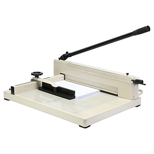 SMTHouse A3 Paper Cutter Paper Trimmer Paper Cutter Guillotine 17 Inch Capacity 80g 400 Sheets for Commercial Photocopy Printing Shop (A3 17 Inch)