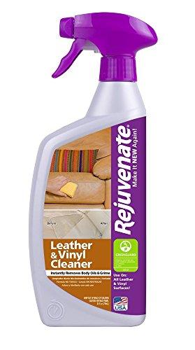 [Rejuvenate Leather and Vinyl Cleaner, 24 oz] (Vinyl Leather Cleaner)
