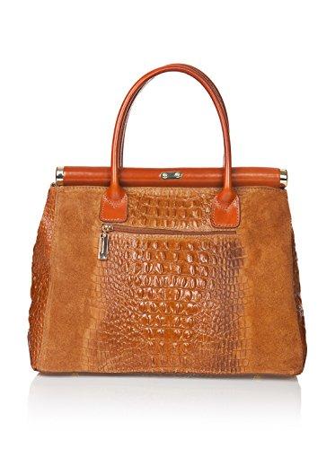 Markese Handbag - Bolso asa de mano Mujer Cognac