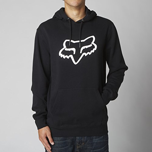 Fox Boys' Big Youth Legacy Pullover Fleece, Black, ()