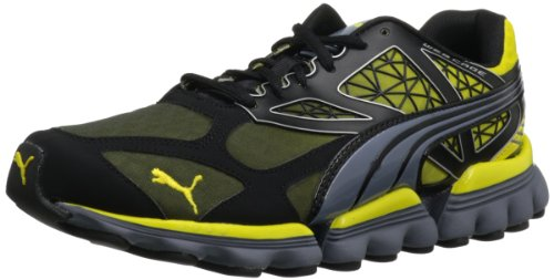 PUMA Men's Mell Es Suga Cross-Training Shoe,Black/Grisalle/Yellow,8.5 D US Review