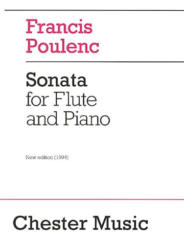 Sonata for Flute and Piano: Revised Edition, ()