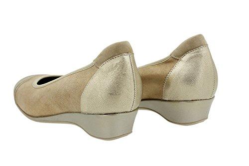 Comfort Scarpe Ballerine Piesanto Donna Venus 180723 Platino OnPIawx