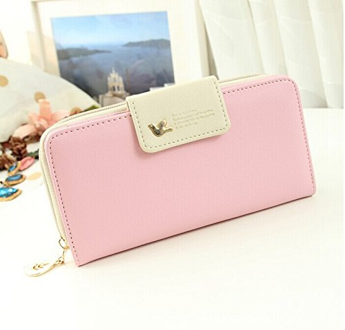 Amazon.com : Lucky 2015 Candy Color Women Brand Wallets ...