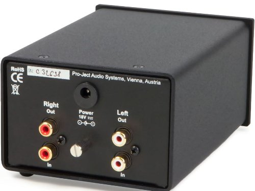Pro-Ject Audio - Phono Box DS+ MM/MC Phono Preamplifier - Black by Pro-Ject by Pro-Ject