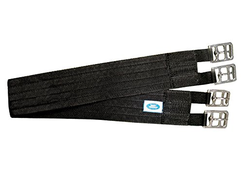 Derby Originals Soft Nylon Web English Girth, Black (28