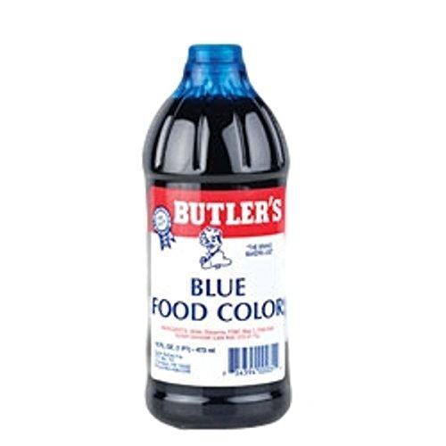 Butler's Best Blue Food Coloring, Bottle, 16 fl oz