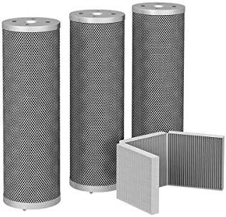 Juego de cartuchos de filtro de carbón activo ULBAS: Amazon.es: Grandes electrodomésticos