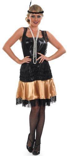 Black and gold fancy dress ideas