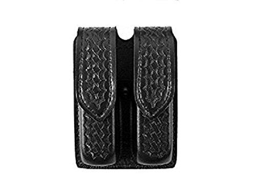 Safariland Duty Gear S and W 59 Hidden Snap Double Handgun Magazine Pouch (Basketweave (Basketweave Duty Gear)