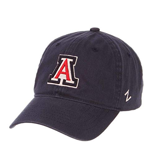 NCAA Arizona Wildcats Men's Scholarship Relaxed Hat, Adjustable Size, Team Color -