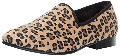 STACY ADAMS Men's Sultan Leopard Slip-On Loafer, 10.5 M US (Leopard Sneakers Men)