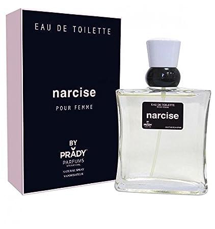 Narcise - Perfume genérico para mujer, agua de colonia, 100 ml, gran marca