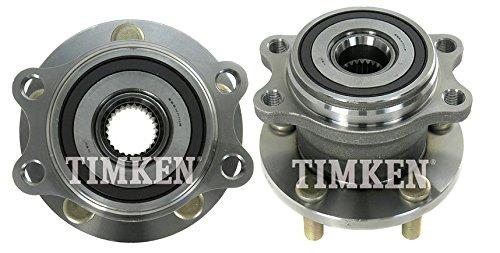 Subaru Legacy Rear Wheel - TIMKEN HA590119 Rear Wheel Hub & Bearing Pair Set for Subaru Outback Legacy