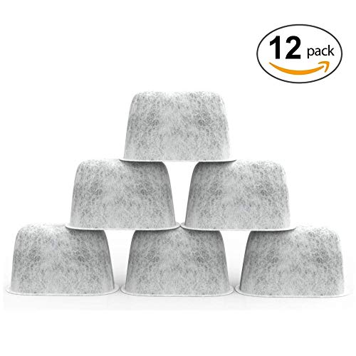 - SPREAD - Pack of 12 Premium Cuisinart Charcoal Water Filters for All Cuisinart Coffee Machines