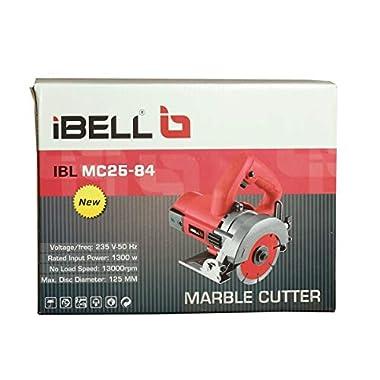 iBELLMC25-84 Marble Cutter, 1300 Watts, 13000 RPM, 125 mm 7
