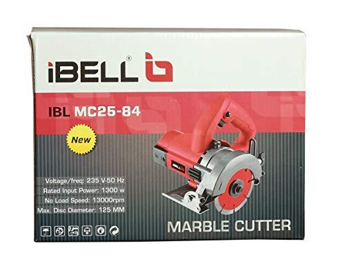 iBELLMC25-84 Marble Cutter, 1300 Watts, 13000 RPM, 125 mm 3