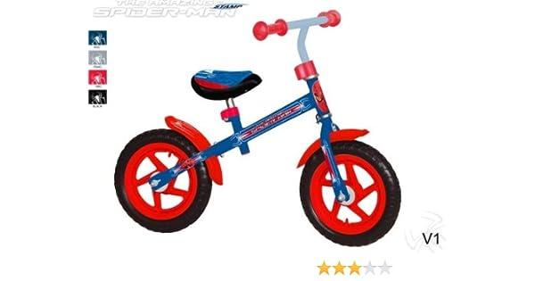Marvel SM140031 - Bicicleta sin Pedales, diseño de Spiderman ...