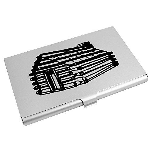 Azeeda CH00014103 Cabin' 'Log Card Business Holder Wallet Card Credit TT6wZqxrS