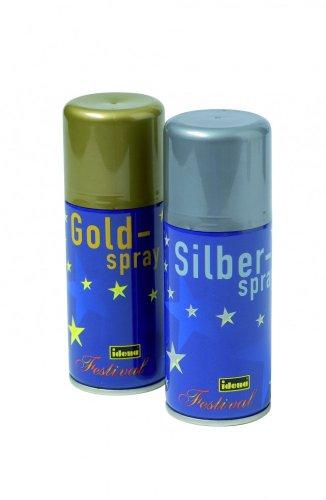 # Deko-Spray SILBER 150ml-Dose, Dekofarbe silberne Sprühfarbe Ausverkauf :