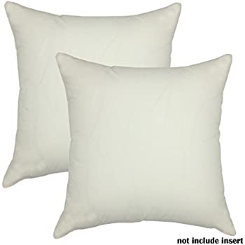 Cotton Throw Pillow Inserts : Amazon.com: Pile of Pillows Insert Cushion, 18 by 18-Inch, 4-Pack: Home & Kitchen
