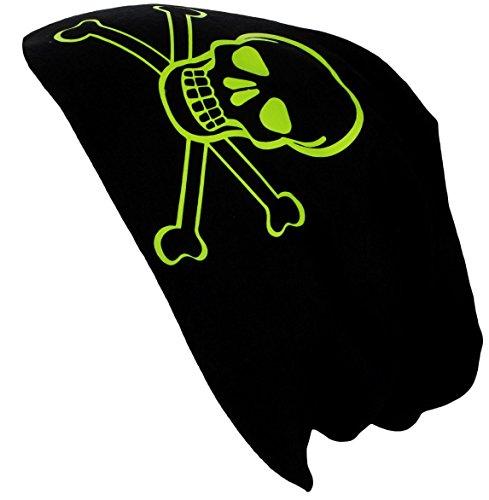 Bonnet été Jersey Splash Avec Mort Beanie Peace Mort Dés De Jaune Motifs Designs Flittner Printemps Alex Neon Tête fwqYEE