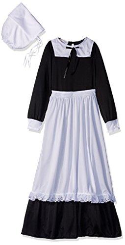California Costumes Pilgrim Girl Child Costume, (Pilgrim Girls)