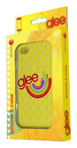 Section8 RBJ-8230 Glee Case for iPhone 5 - Retail Packaging - Yellow