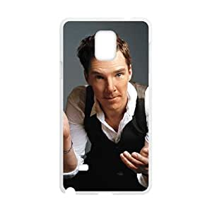 Benedict Cumberbatch Samsung Galaxy Note 4 Cell Phone Case White 218y-689215