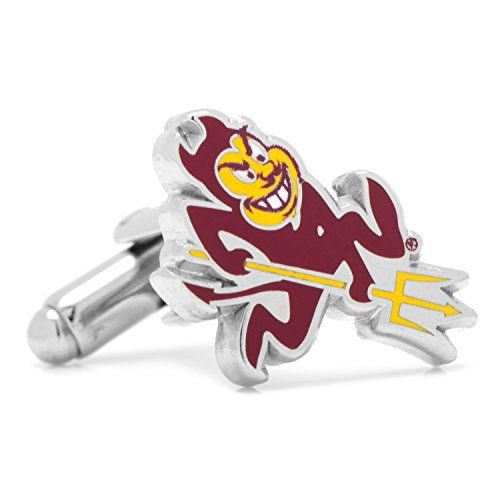 Cufflinks NCAA Arizona State University Sparky, Officially Licensed