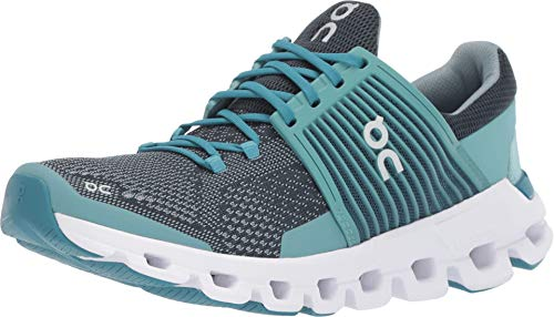On Running Cloudswift Women's Road Shoes Teal/Storm (7 M US) (Best Shoes On Feet)
