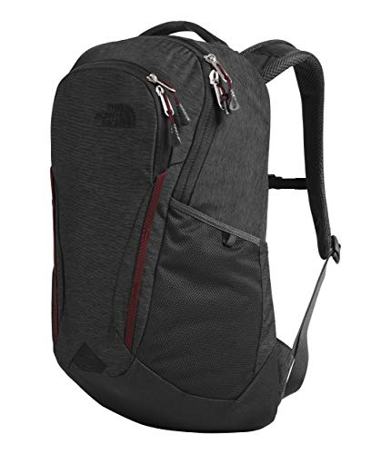 The North Face Women's Vault, Asphalt Grey Light Heather/Deep Garnet Red, - Asphalt Laptop