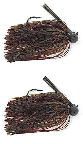 Reaction Tackle Football Jigs 1/2 oz Green Pumpkin/Brown