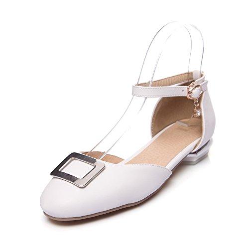 Sandales SLC04180 Blanc Femme 36 Blanc 5 AdeeSu Compensées OP5qxwpp