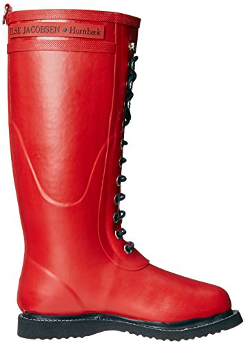 Ilse Jacobsen Long Rubberboot RUB1 - Botas de caucho para mujer Rojo
