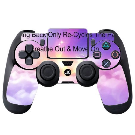 Amazon Com Blue Sky And Clouds At Sunrise Quote Printed Design Ps4