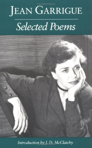 Selected Poems by Jean Garrigue (1992-02-01)
