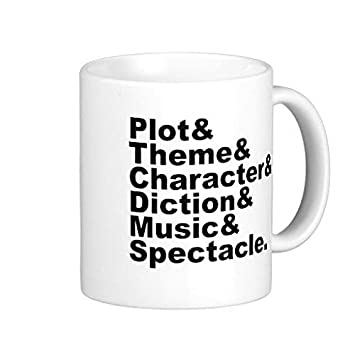 Six Element Of Poetics And Drama By Aristotle Coffee Mug 11 Oz Amazon Co Uk Kitchen Home