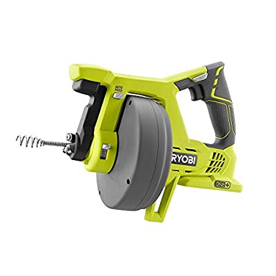Ryobi P4001 18-Volt ONE+ Cordless 25 foot Drain Auger (Tool Only - Battery and Charger NOT Included)