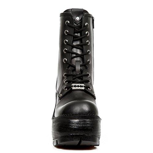 New SEVE02 Black Nr Boots Womens M S1 NEWROCK Rock UxwrZqzvU