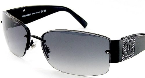 Amazon.com: New Chanel Sunglasses 4117-B 4117B Black Frame ...