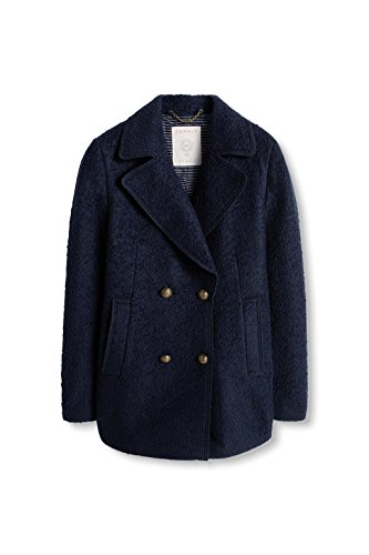 Esprit Navy Bleu 400 Manteau Femme r6r4Yp