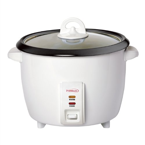 Premium PRC1846 10 Cup Deluxe Rice Cooker, Silver (Deluxe 10 Cup Rice Cooker compare prices)