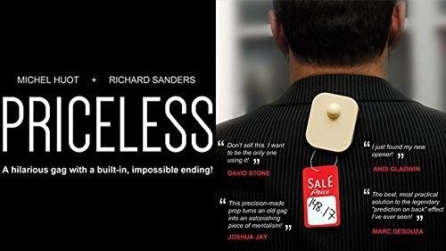 Priceless (Gimmick and Online Instructions) by Richard Sanders - Trick