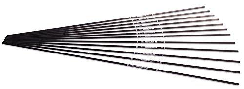 - Carbon Express Medallion XR Carbon Target Arrow Shaft (12 Pack), Size 600